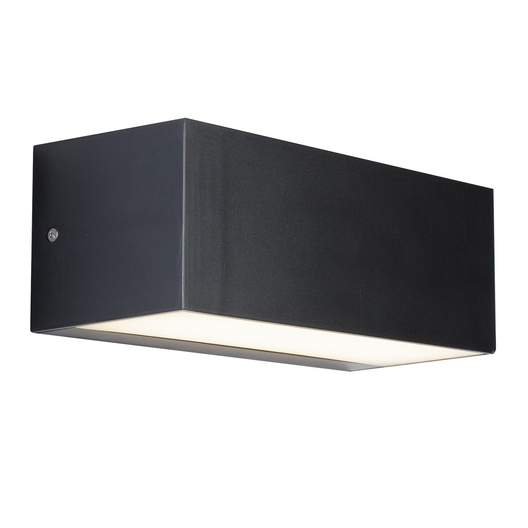 Searchlight 8735gy 14w Led Dark Grey Outdoor Wall Bracket Online Lighting Shop