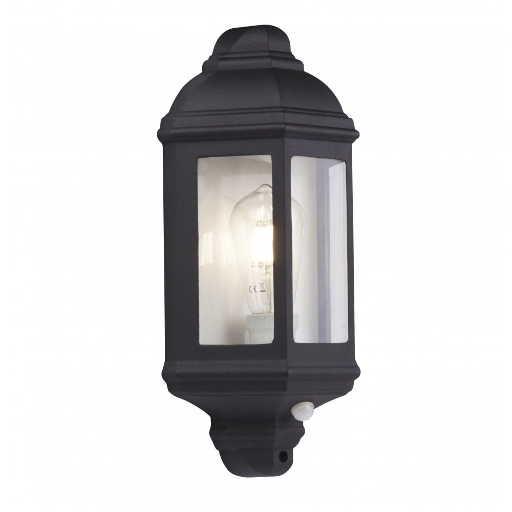 Outdoor Black Flush Light With Pir Sensor